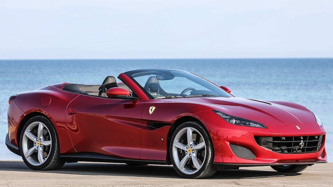 2019 Ferrari Portofino Front Three-quarter View