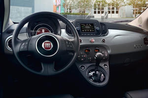 2020 Fiat 500 hatchback steering