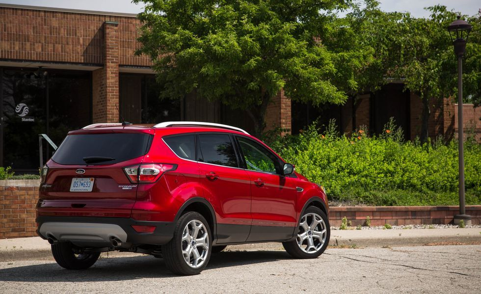 2020 Ford Escape Angular Rear View