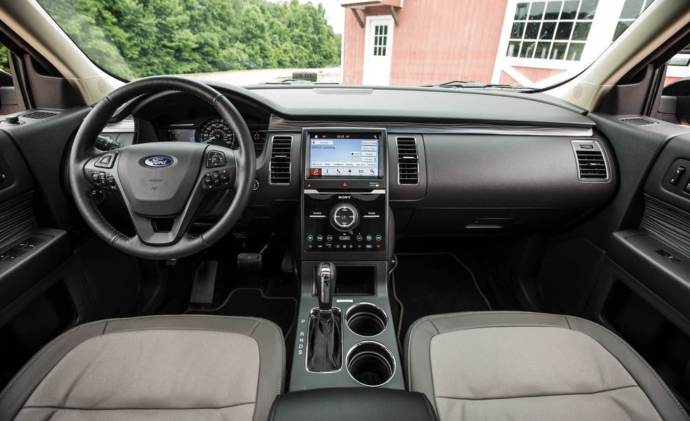 2019 Ford Flex Cockpit area
