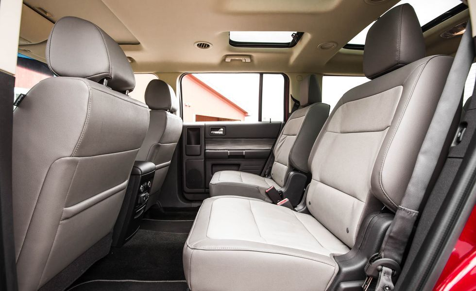 2019 Ford Flex rear seat