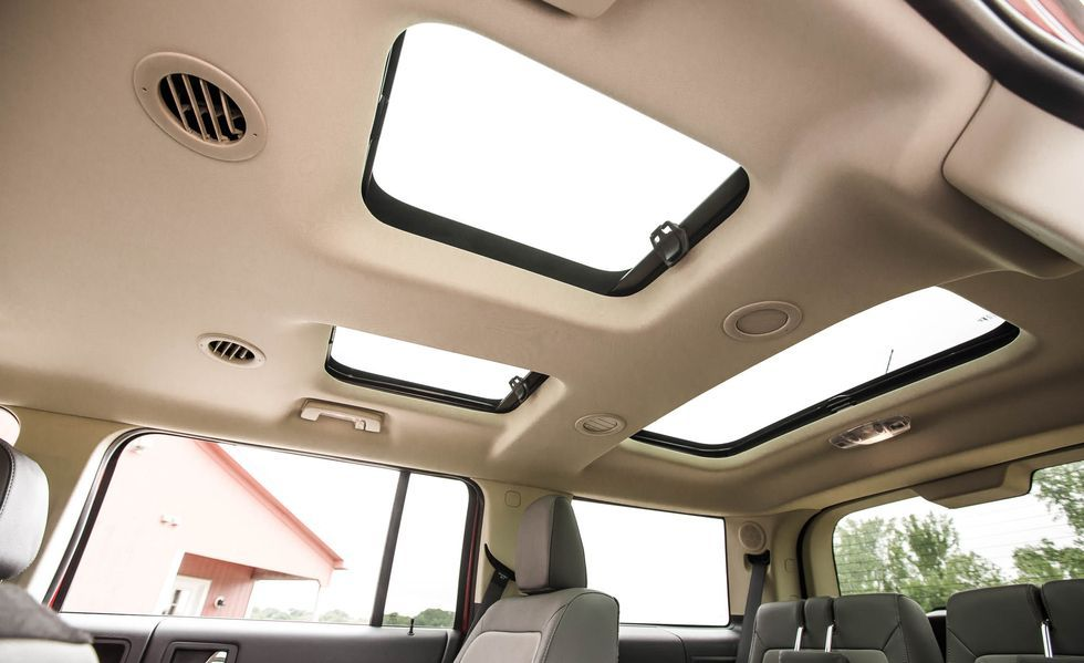 2019 Ford Flex sunroof