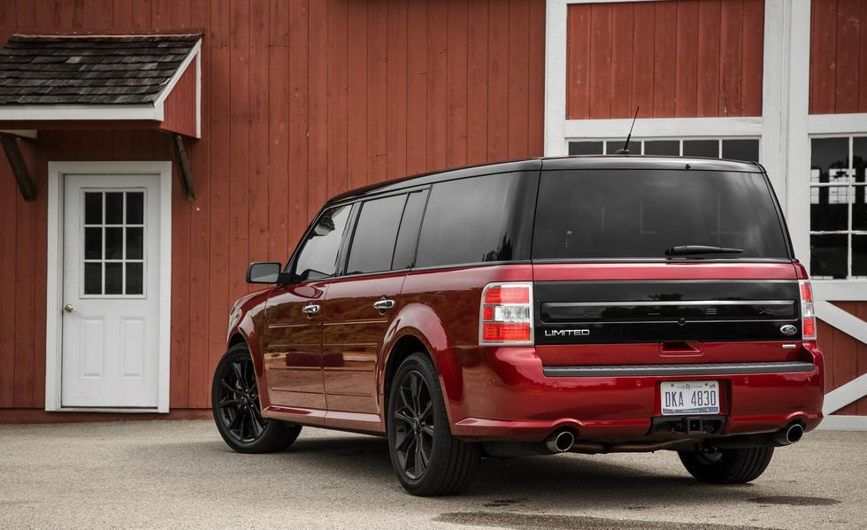 2019 Ford Flex rear view