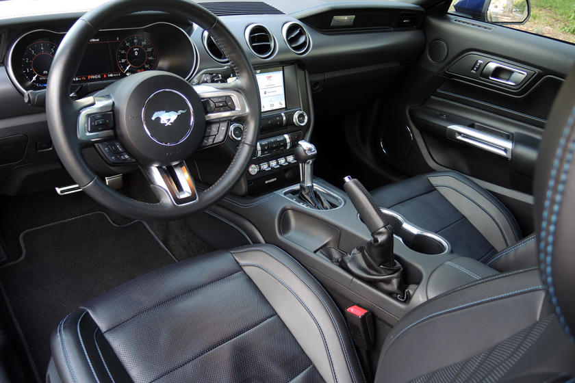 2020 Ford Mustang GT Dashboard