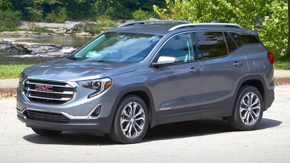 2020 GMC Terrain Front Three quarter View