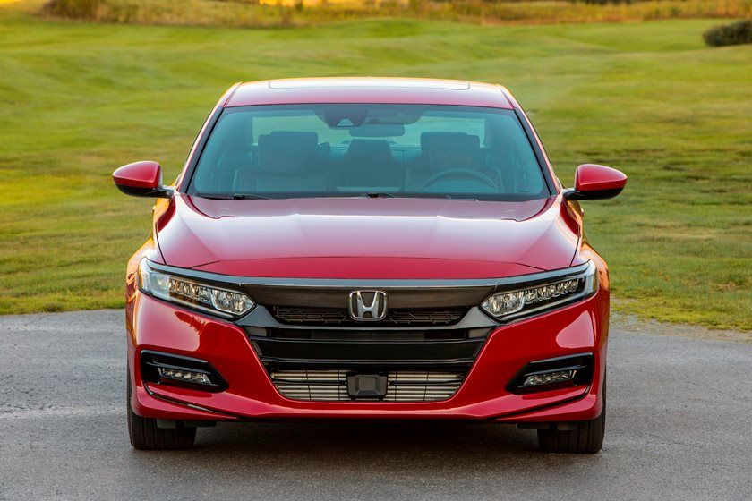 2020 Honda Accord Sedan Front View