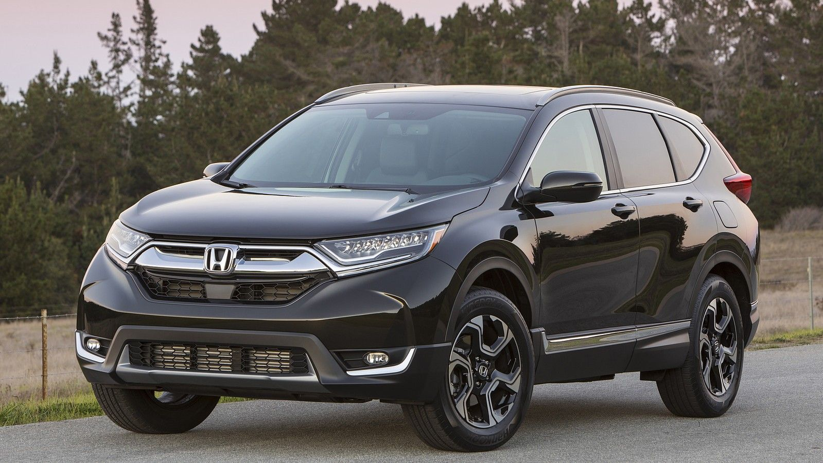 2020 honda crv front three quarters