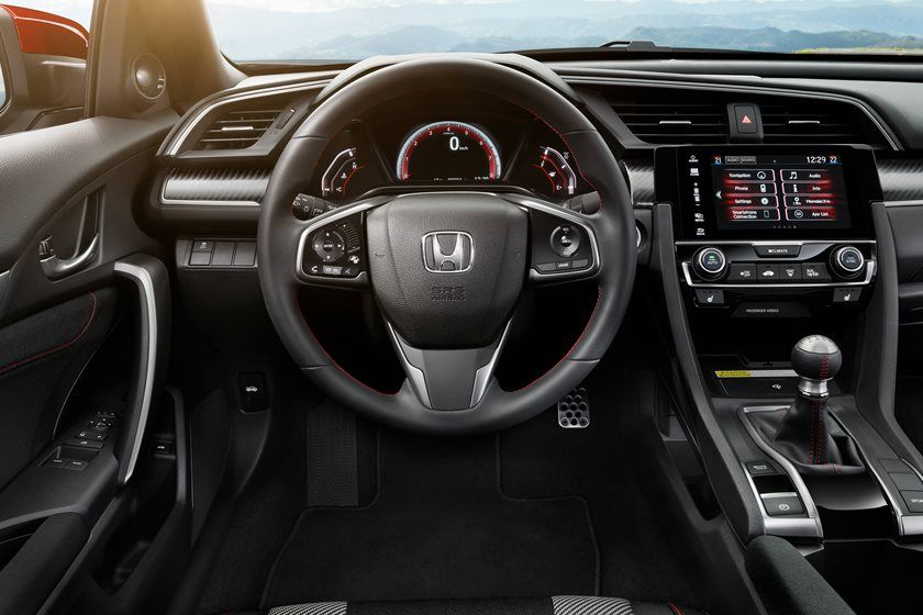 2019 Honda Civic Si coupe steering
