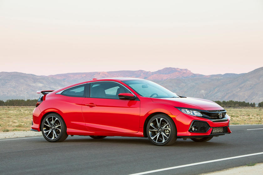 2019 Honda Civic Si coupe side view