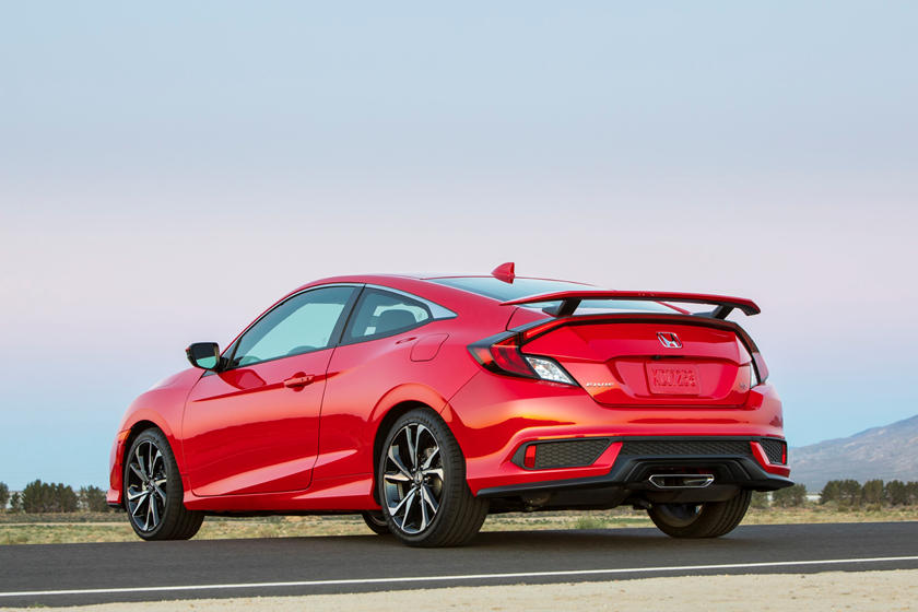 2019 Honda Civic Si coupe rear view