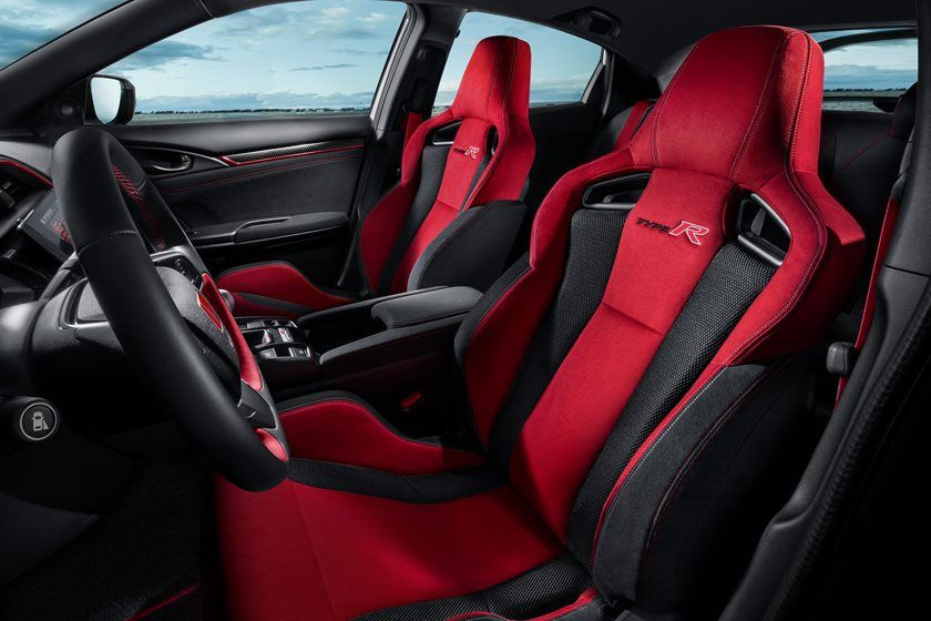 2020 Honda Civic Type-R front seat