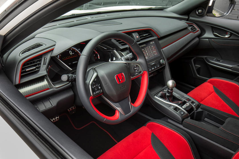 2020 Honda Civic Type-R dashboard