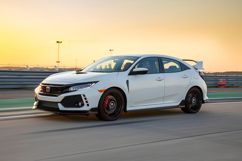 2020 Honda Civic Type-R side view