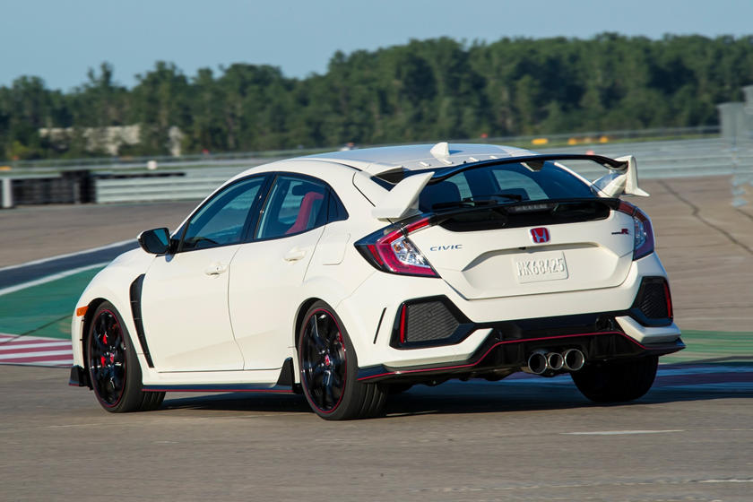 2020 Honda Civic Type-R rear view