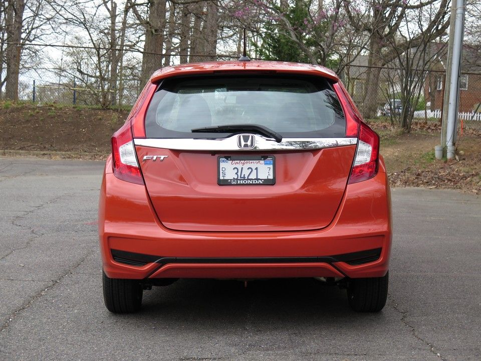 2019 Honda fit orange