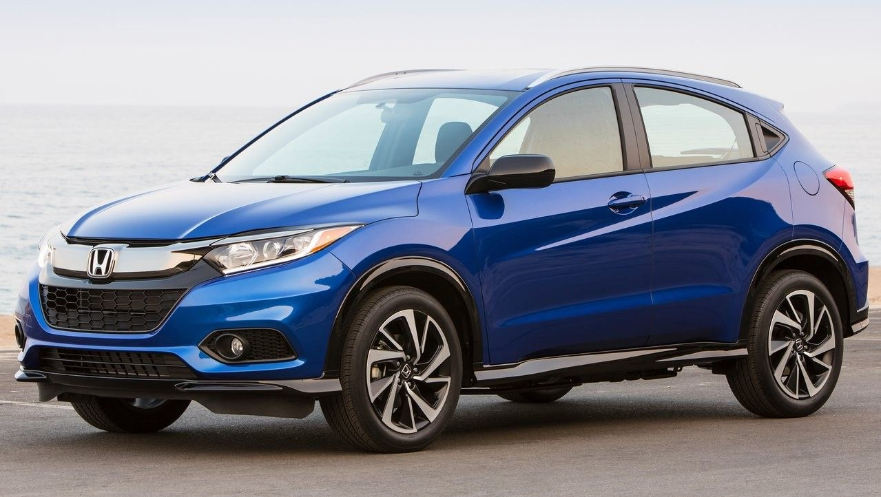 2020 Honda HR-V Front Three-quarter View