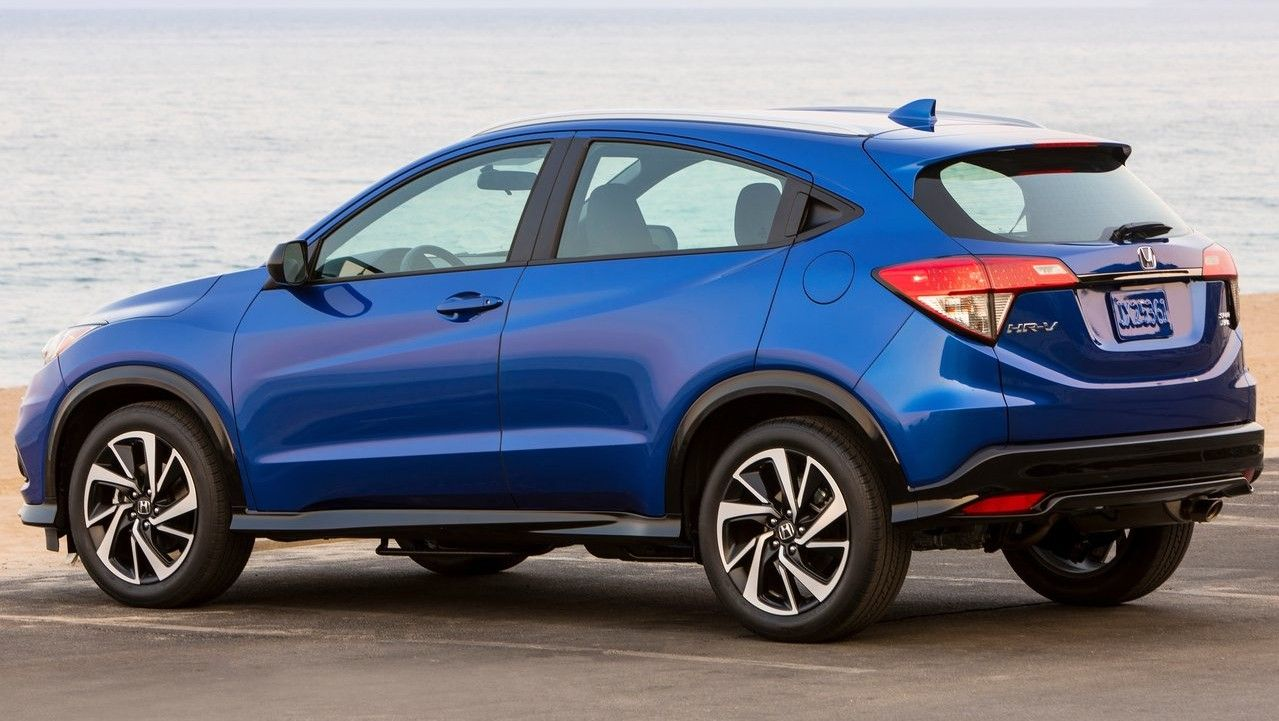 2020 Honda HR-V Rear Three-quarter View