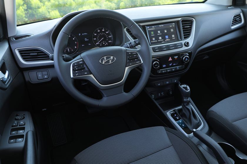 2020 Hyundai Accent Cockpit Area
