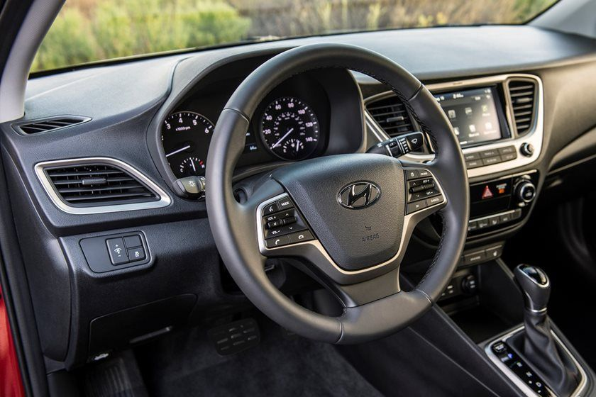 2020 Hyundai Accent Steering