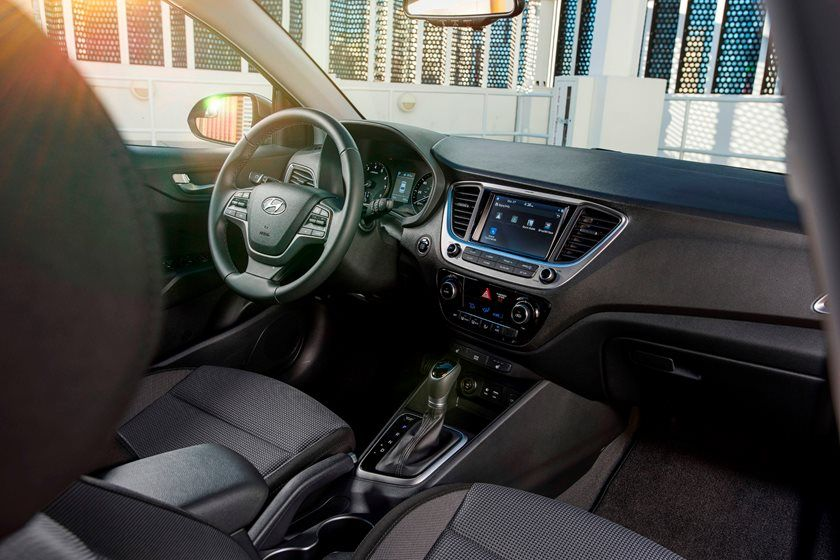 2019 Hyundai Accent front seat