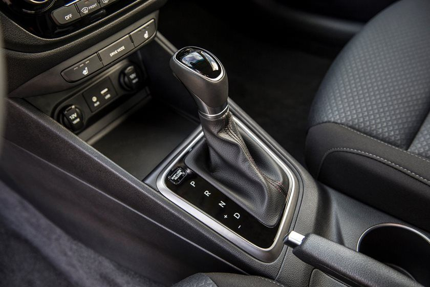 2020 Hyundai Accent center console