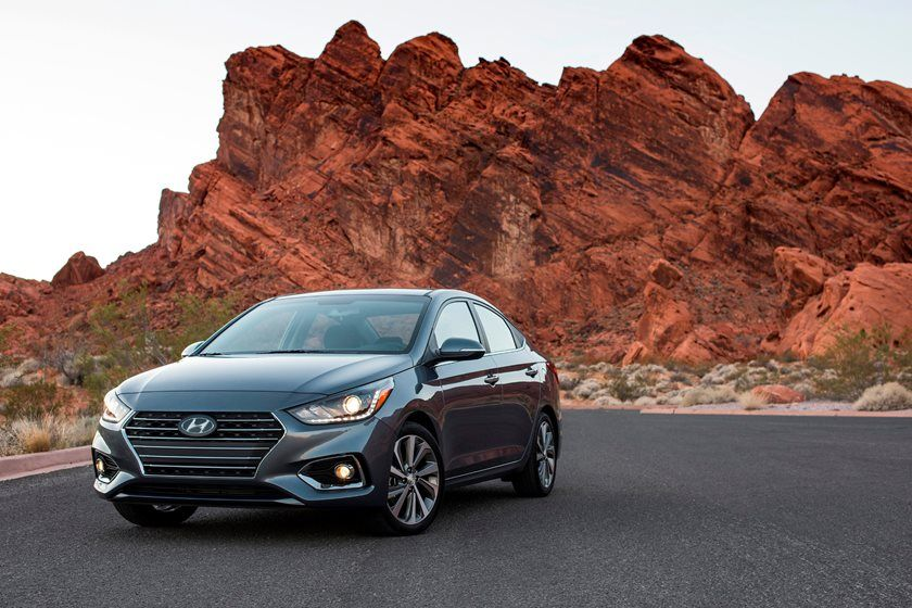 2019 Hyundai Accent front view