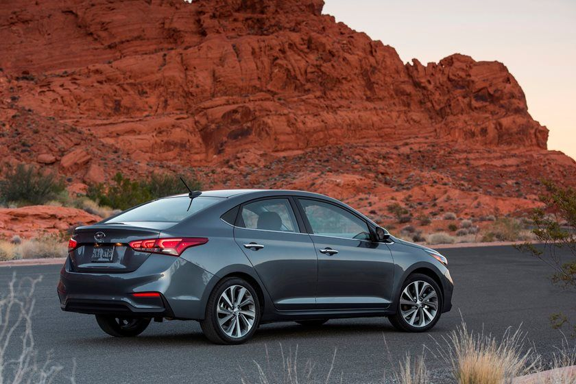 2020 Hyundai Accent side view