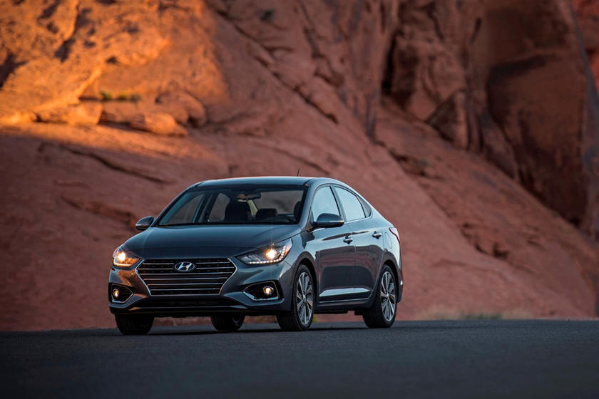 2020 Hyundai Accent front view