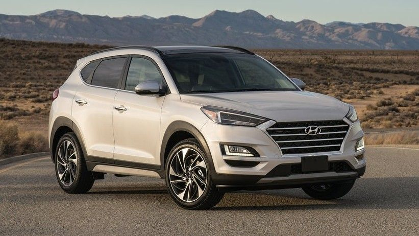 2020 Hyundai Tucson Front Three-quarter View