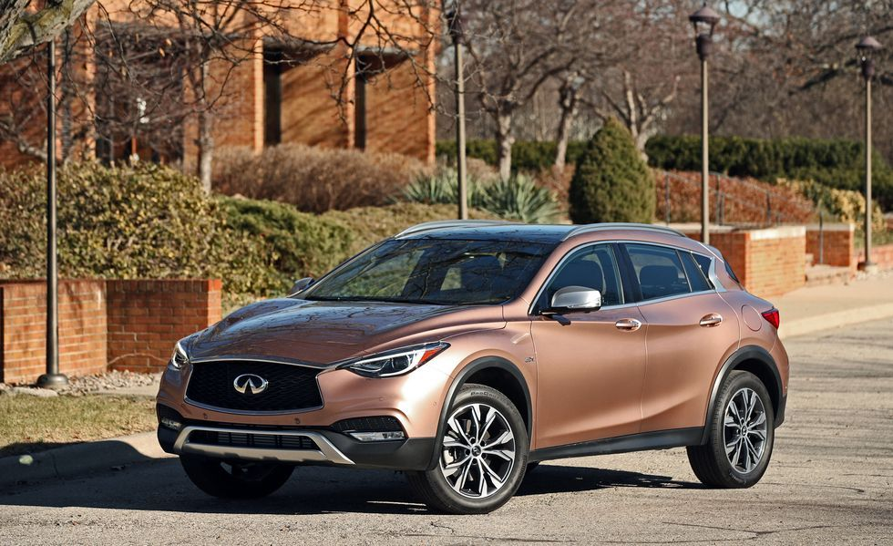 2019 Infiniti QX30 Front Three-quarter View