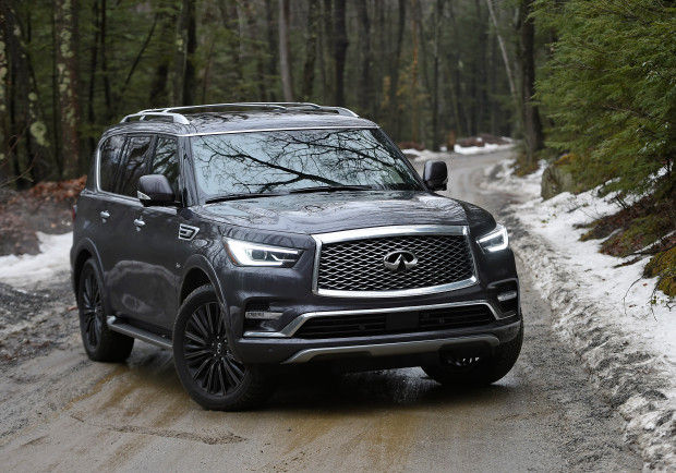 2020 Infiniti QX80 Front view