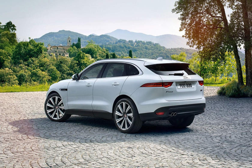 2020 Jaguar F- Pace rear view