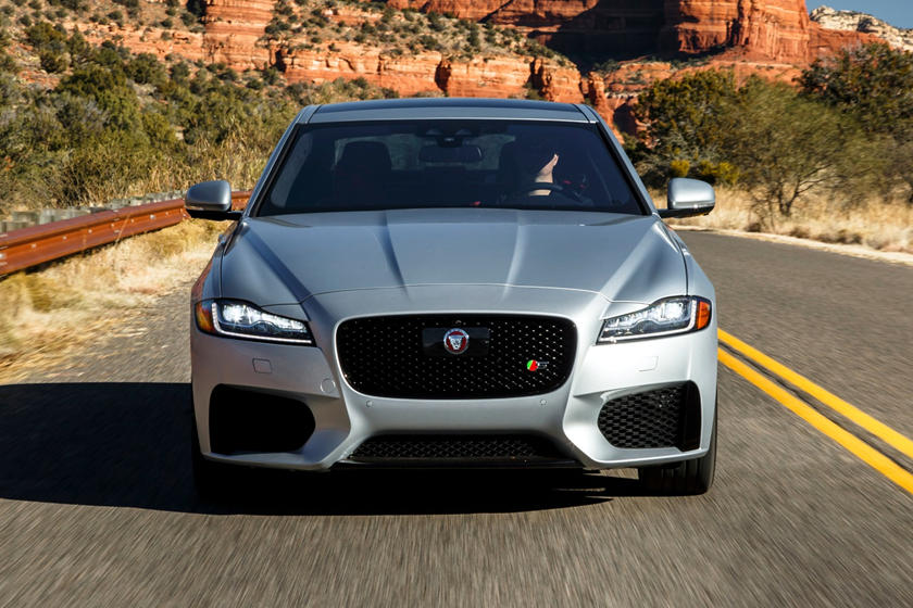 2020 Jaguar XF front view
