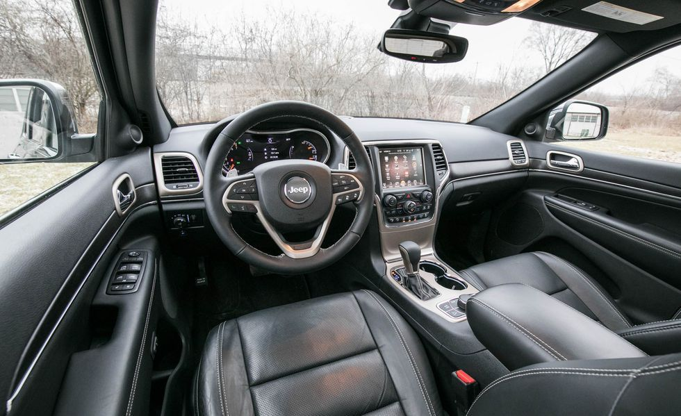 2019 Jeep Grand Cherokee Cockpit Area