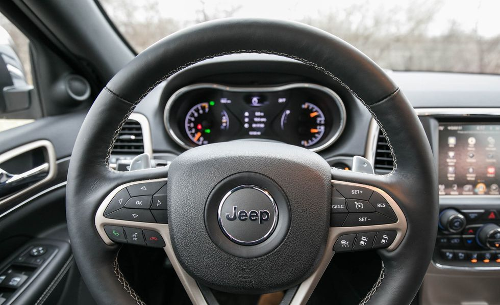 2019 Jeep Grand Cherokee steering