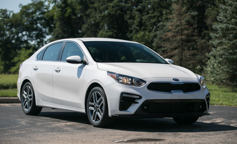 2020 Kia Forte Front Three-quarter View