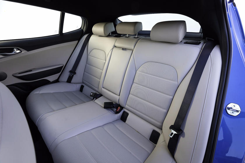 2020 Kia Stinger rear seat