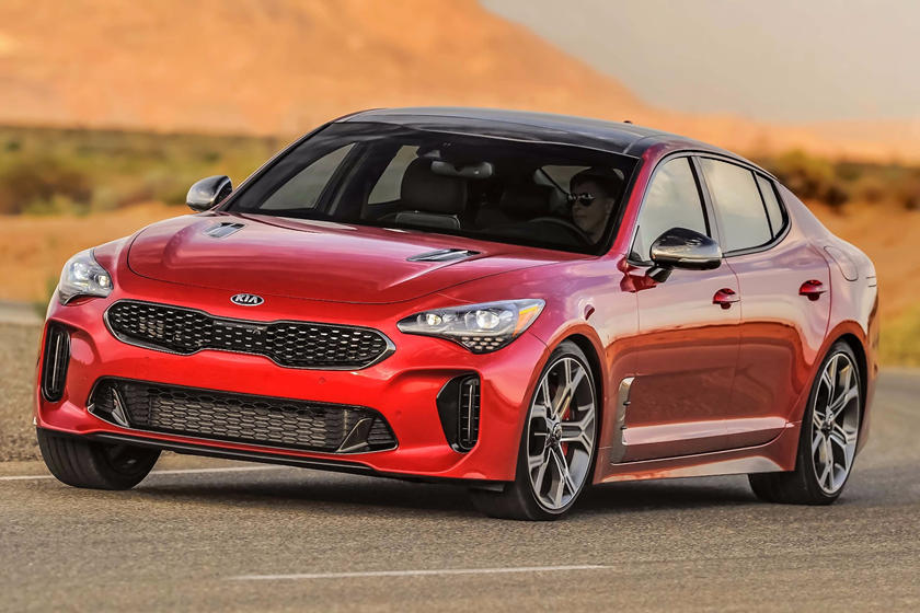 2020 Kia Stinger Front View