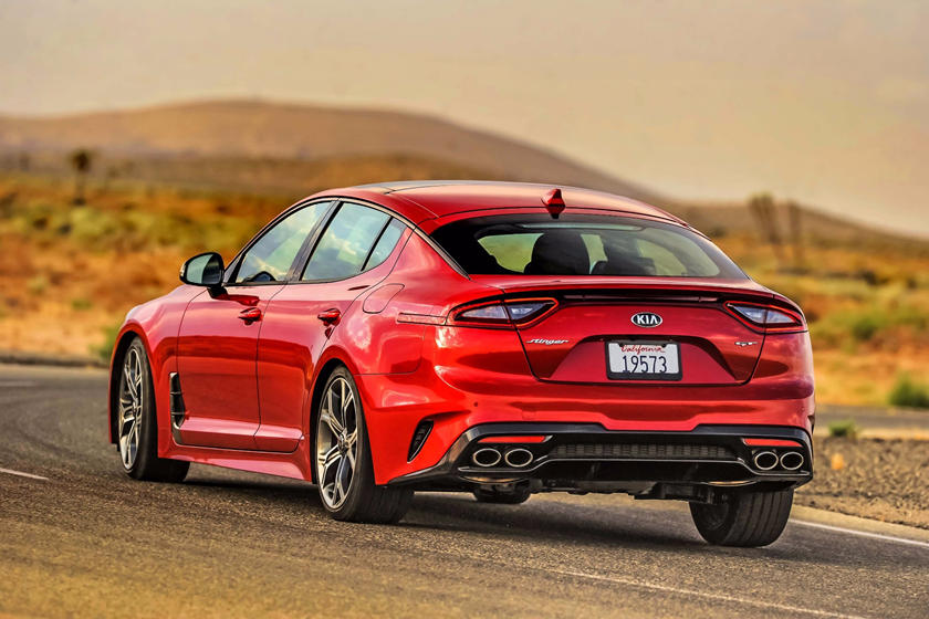 2020 Kia Stinger rear view