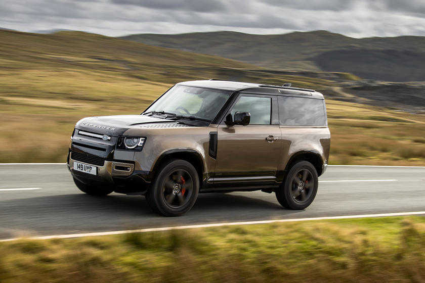 2022 Land Rover Defender SUV Three Quarter Front View