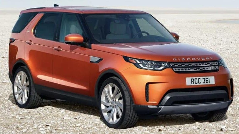 Bronze 2020 Land Rover Discovery Front View