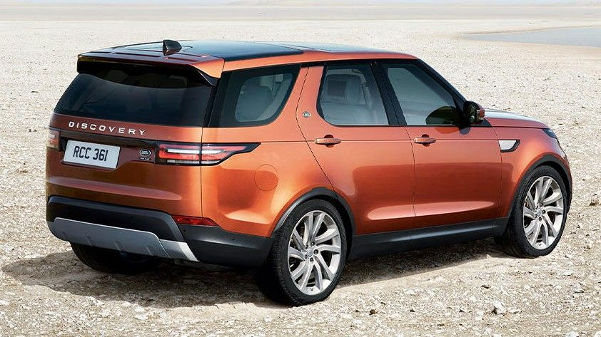 Bronze 2020 Land Rover Discovery Rear View