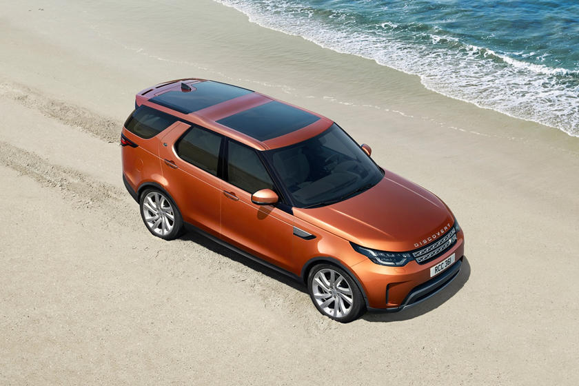 2020 Land Rover Discovery top view
