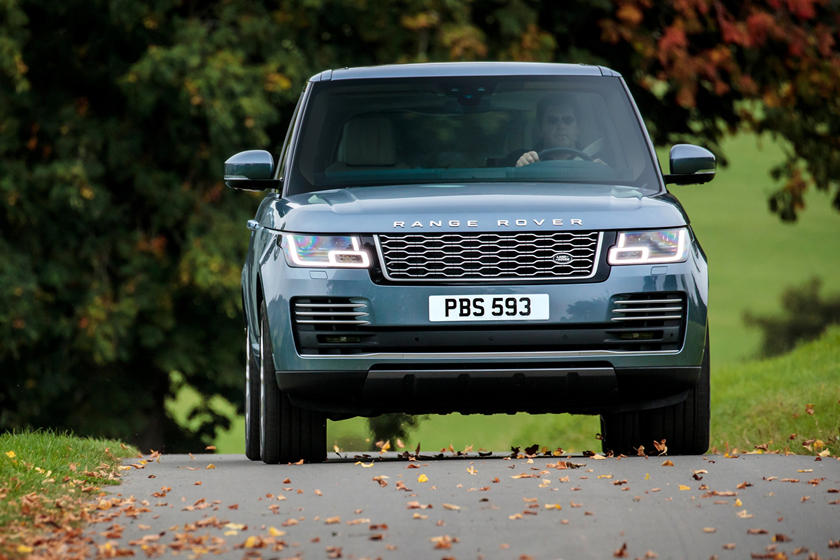2020 Land rover range rover front view