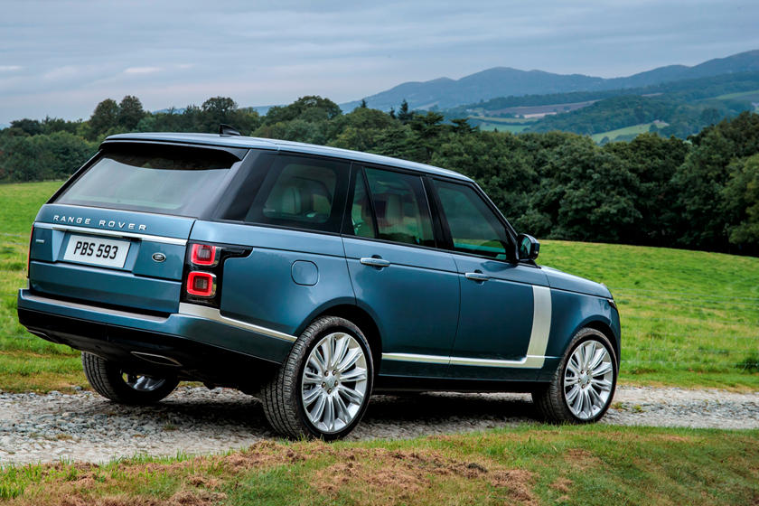 2020 Land rover range rover side view