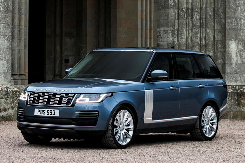 2020 Land Rover Range Rover Front Three-quarter View