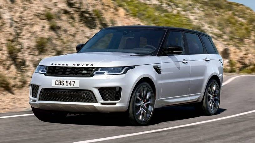 2020 Land Rover Range Rover Sport Front Three-quarter View