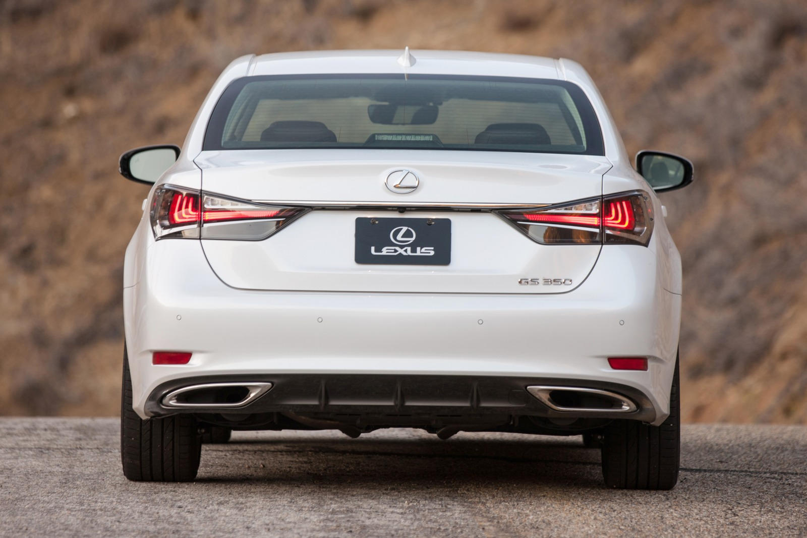 2020 Lexus GS 350 Rear View