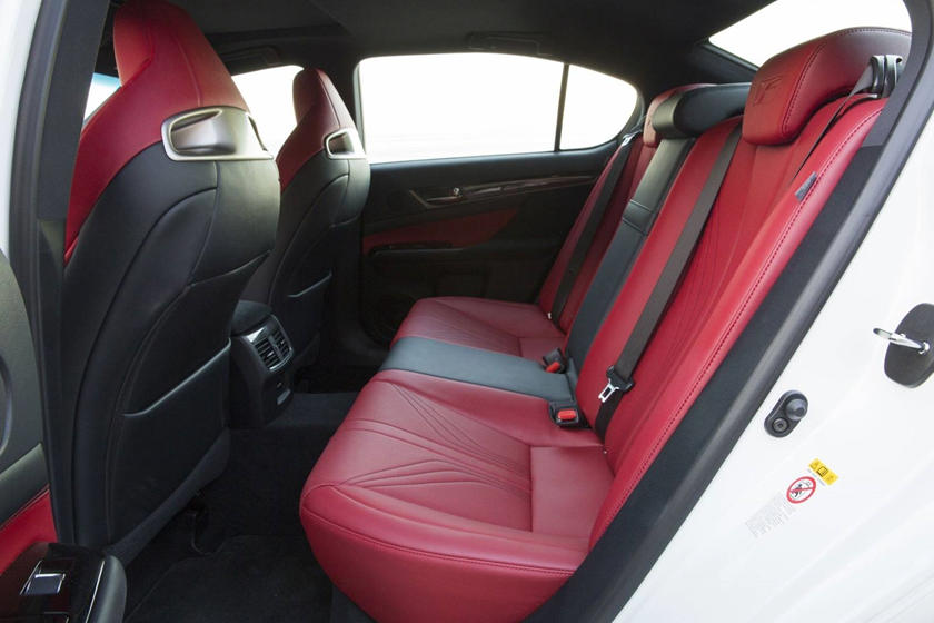 2020 Lexus GS F rear seat