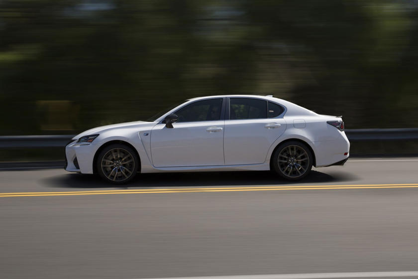 2020 Lexus GS F side view